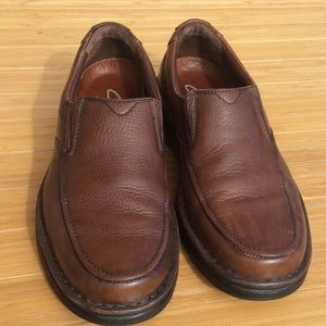 Clarks Shoes - Clarks Leather Loafers Shoes Men's 9.5